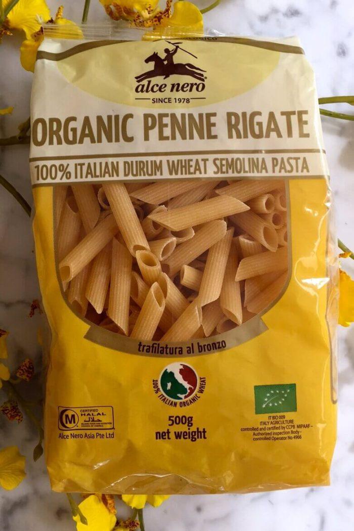 organic pasta penne rigate