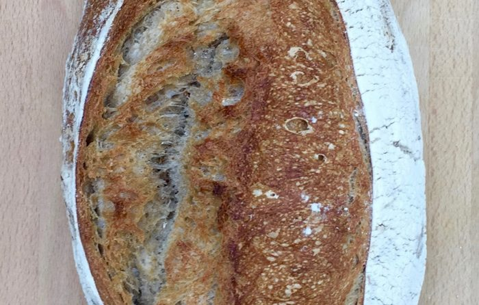 Light Sourdough Bread