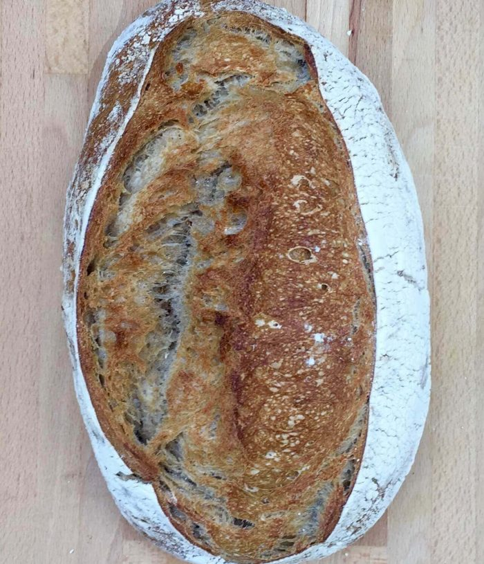 Light Sourdough Bread