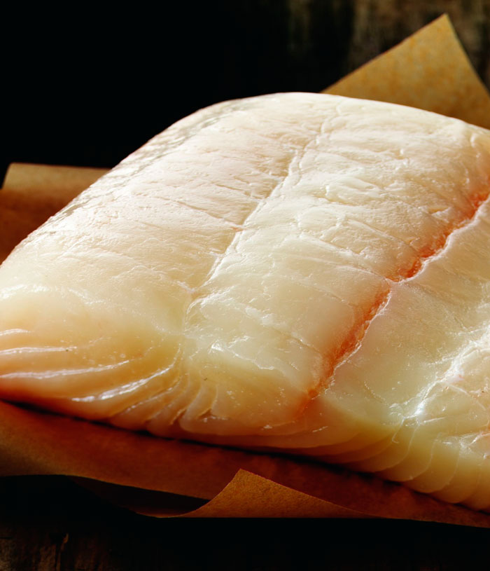 Alaskan Halibut Fish Wild Caught