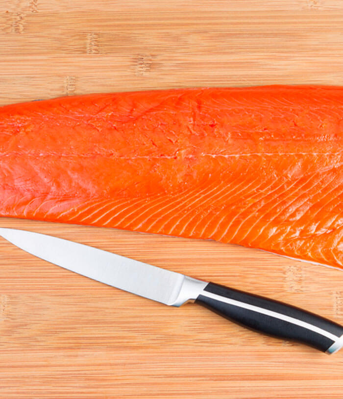 Whole Sockeye Salmon Fillet