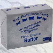 biodynamic butter farming