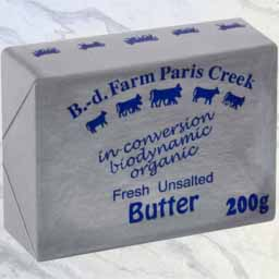 Butter Biodynamic and Organic2