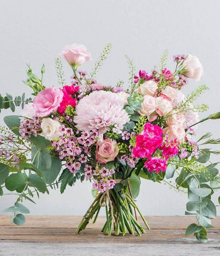 Pretty in pink flower arrangements- Straits Market Singapore