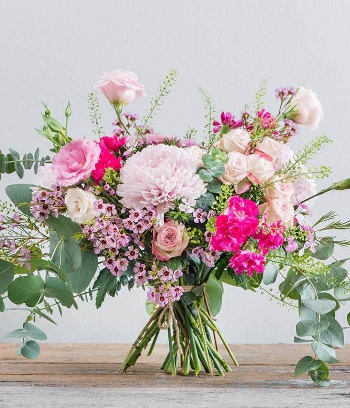 Pretty in pink flower arrangements- Straits Market Singapore