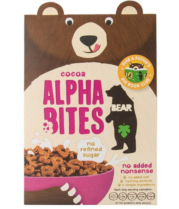 Bear Alpha Bites Cocoa Cereal
