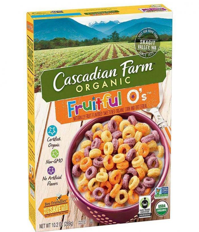 cascadian farm organic cereal - Straits Market Singapore