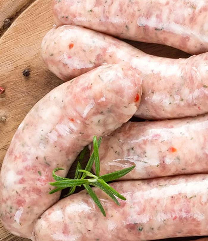 organic chicken sausage - Straits Market Singapore