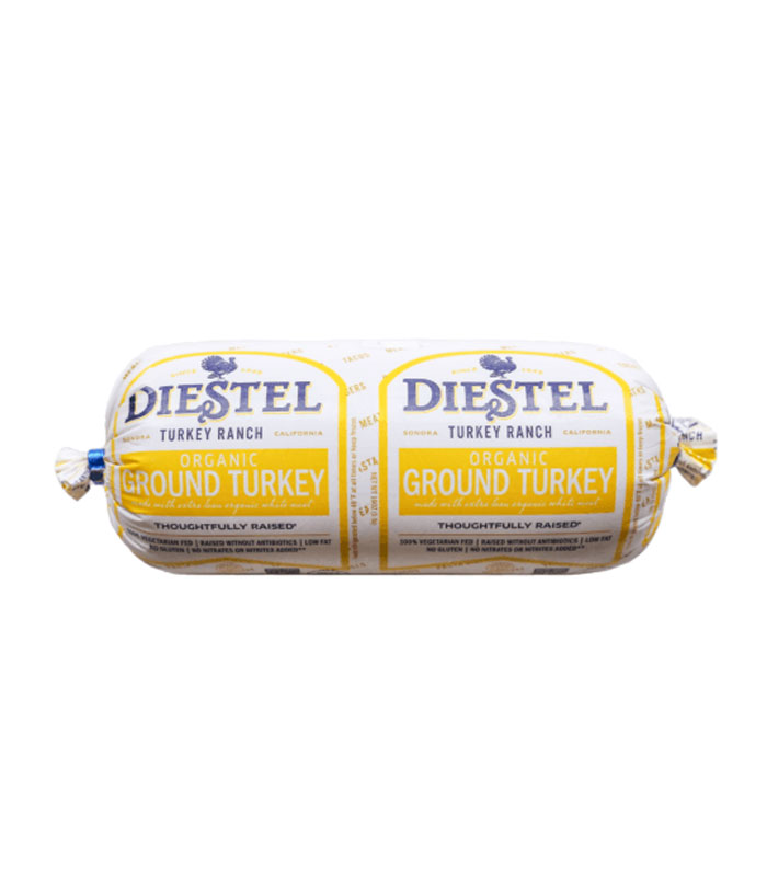 DIESTEL ORGANIC WHITE GROUND TURKEY