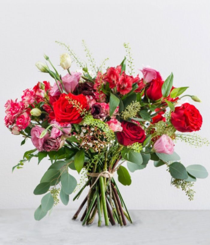 Passionately Red Bouquet