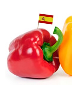 Organic Spanish Red Bell Peppers