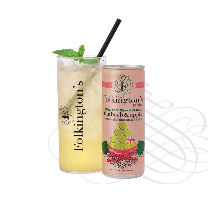 Rhubarb & Apple Pressé