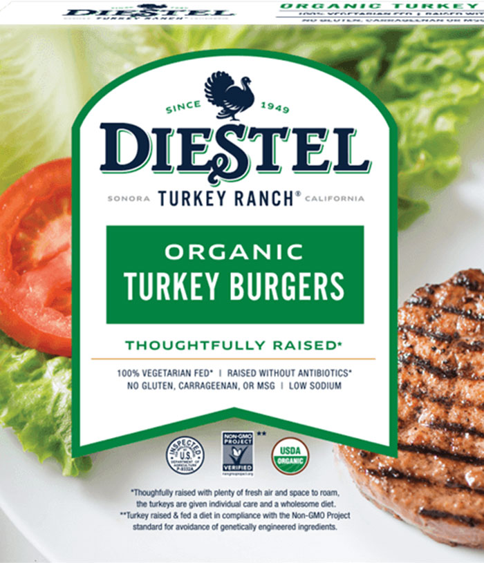 Diestel Organic Turkey Burger