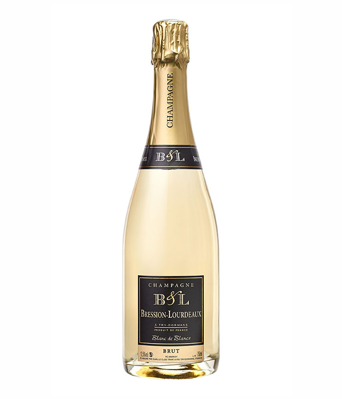 Champagne Bression-Lourdeaux, Brut, Blanc de Blancs