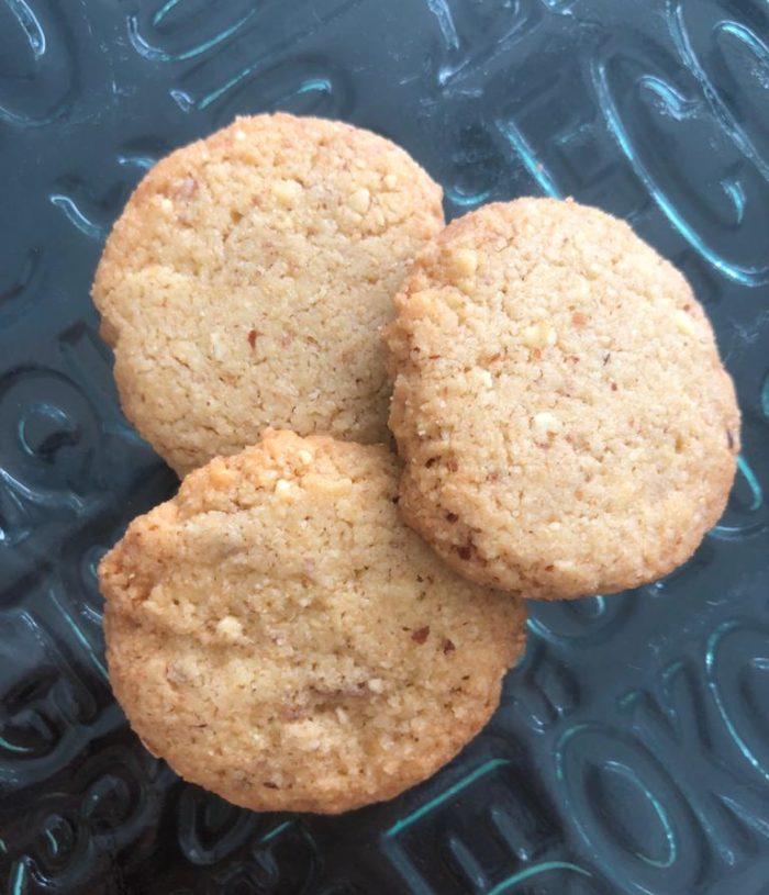 WW Almond Cookies