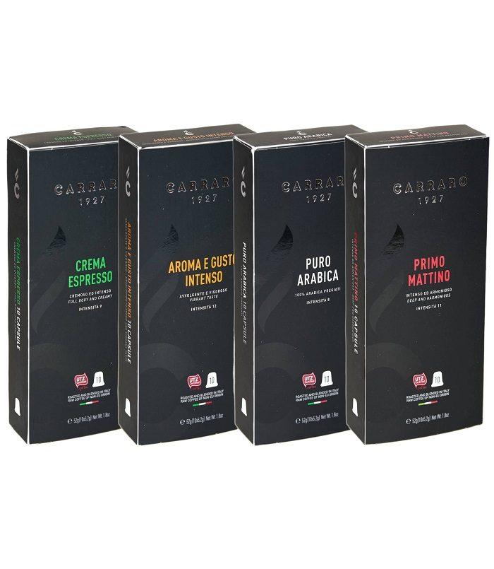 Carraro Nespresso Compatible Coffee Capsules