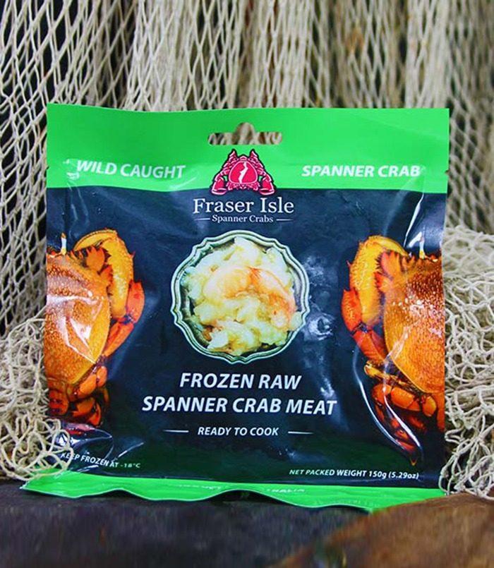 Fraser Isle Spanner Crab Meat