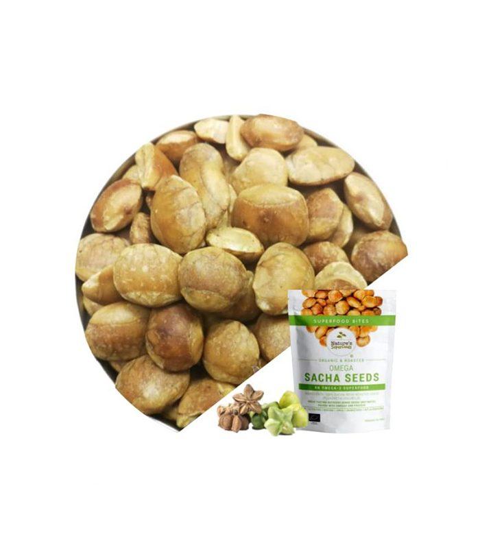 Organic Omega Sacha Inchi Seeds