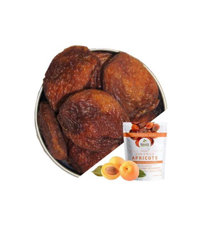 Organic Sun-Dried Apricots
