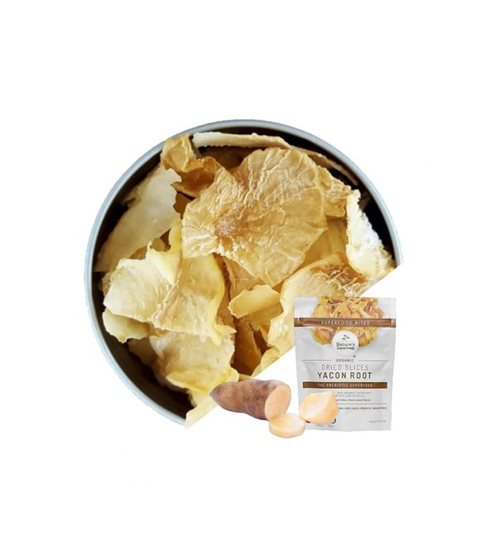 Organic Yacon Root Slices, Dried