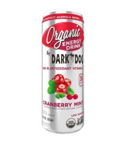Dark Dog Organic Energy Drink - Cranberry Mint