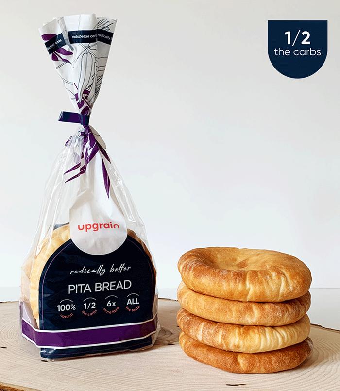 UPGRAIN® Half-carbs Pita Bread